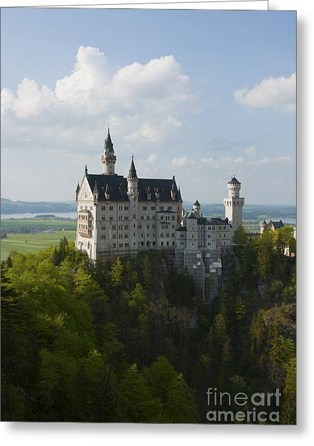 Neuschwanstein Castle Greeting Card by Andrew  Michael
