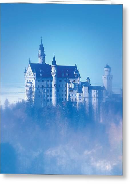 Neuschwanstein Castle Greeting Card by BONB Creative