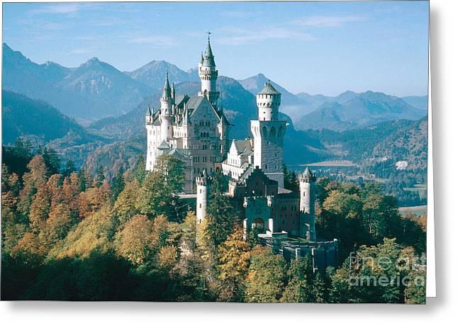 Neuschwanstein Castle Greeting Card by Edward Drews