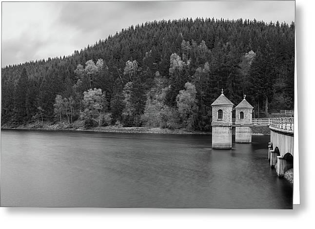 Neustadt Dam , Southern Harz Greeting Card