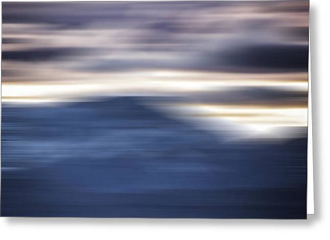 Nevada Blur #1 Greeting Card by Rob Worx