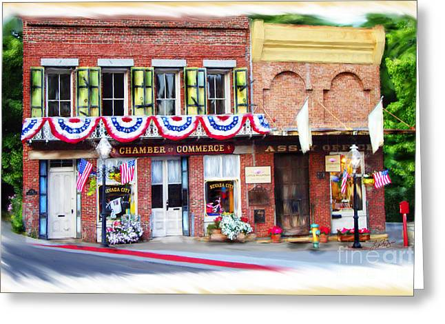 Nevada City Chamber Greeting Card