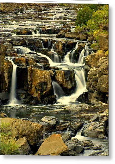 Nevada Falls 5 Greeting Card by Marty Koch