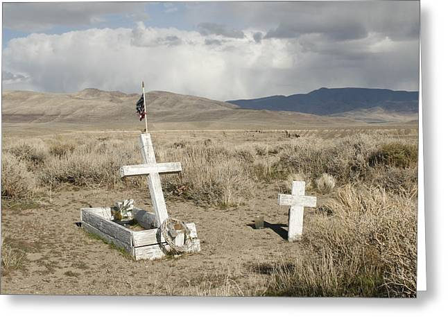 Nevada Grave Greeting Card