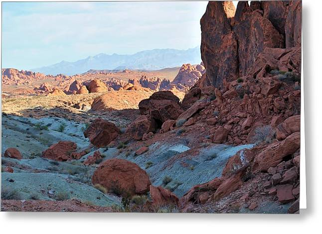 Nevada Rocks 11 Greeting Card