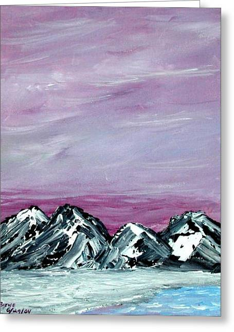Nevada Sky Greeting Card by Margie  Byrne