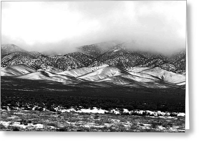 Nevada Snow Greeting Card