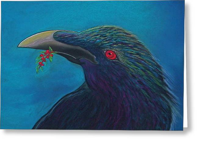 Nevermore Greeting Card by Tracey Levine