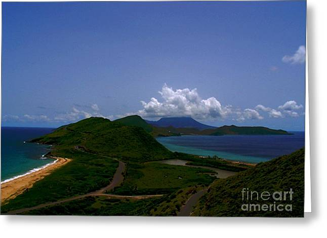 Greeting Card featuring the photograph Nevis II by Louise Fahy