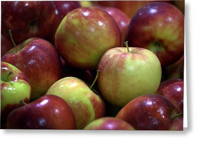 New Apples Greeting Card by Joseph Skompski