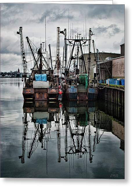 New Bedford Waterfront No. 1 - Color Greeting Card