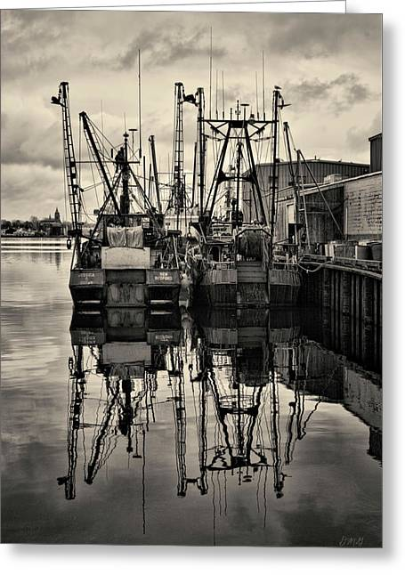 New Bedford Waterfront No. 1 Greeting Card