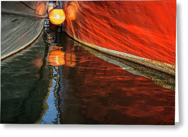 New Bedford Waterfront Xxix Color Greeting Card