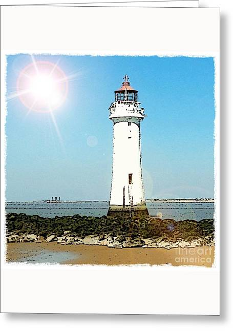 New Brighton Lighthouse Greeting Card