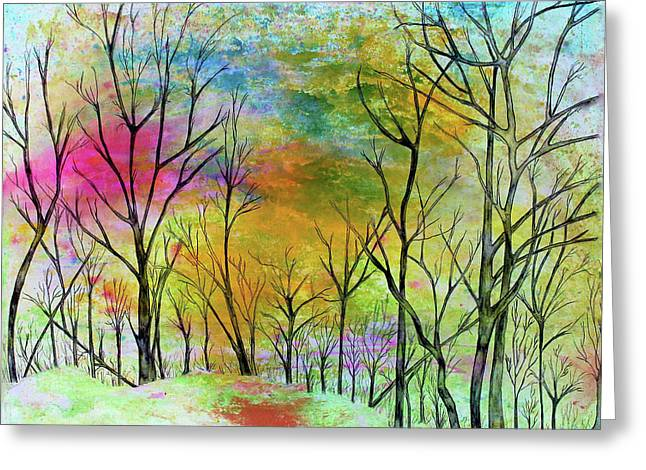 New Dawn New Day New Life Greeting Card