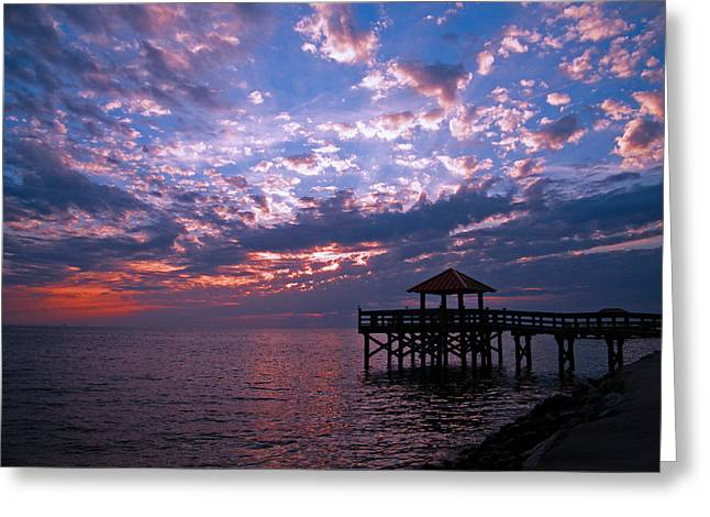 Greeting Card featuring the photograph New Day Dawning by Brian Wright