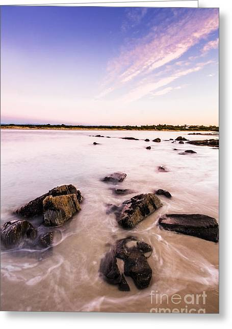 New Day In Coles Bay Greeting Card by Jorgo Photography - Wall Art Gallery