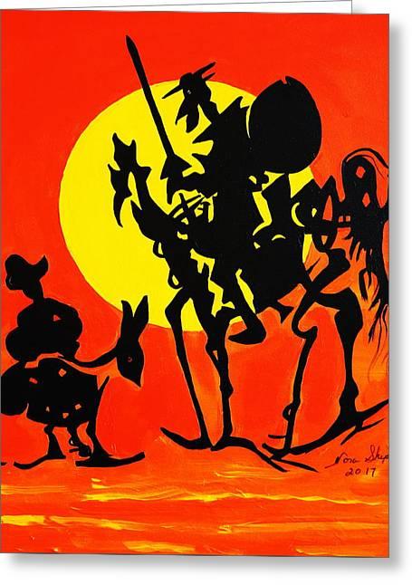 New Don Quixote Greeting Card