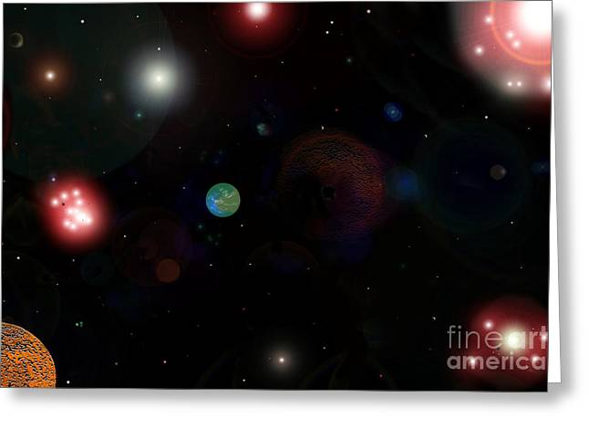 New Earth Greeting Card by David Lee Thompson
