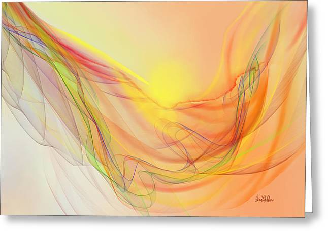 New Earth With Harmonious Layers Greeting Card