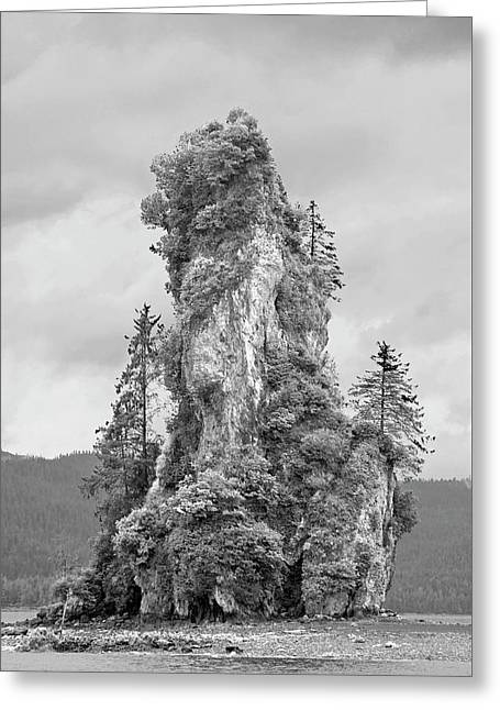 New Eddystone Rock Greeting Card