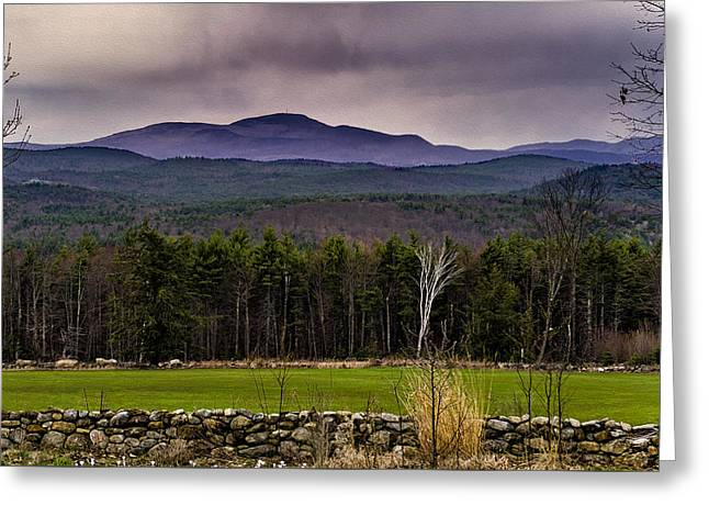 Greeting Card featuring the photograph New England Spring In Oil by Mark Myhaver