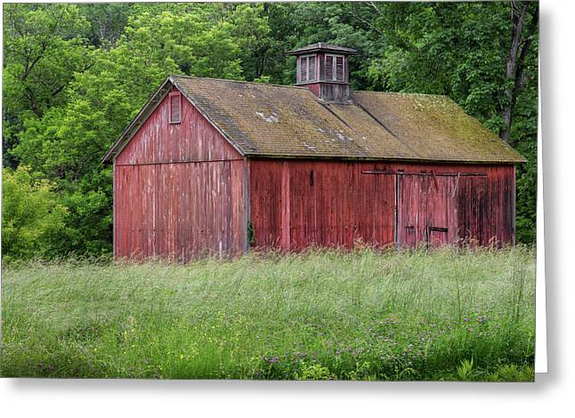 New England Summer Barn 2016 Greeting Card by Bill Wakeley