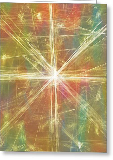 New Galaxy Greeting Card by Dan Sproul