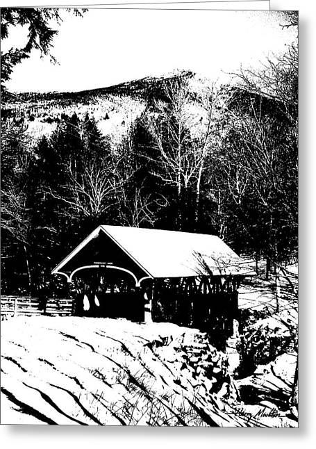 New Hampshire Covered Bridge Greeting Card