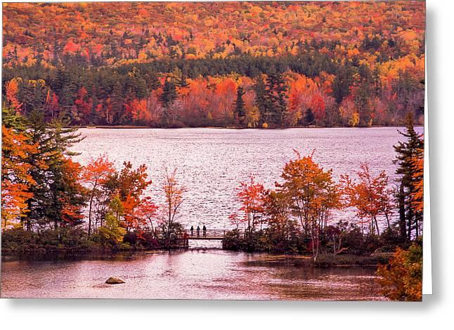 New Hampshire Fall Greeting Card