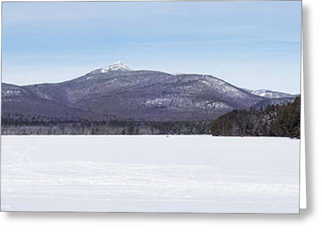 New Hampshire White Mountains Panorama Greeting Card by Toby McGuire
