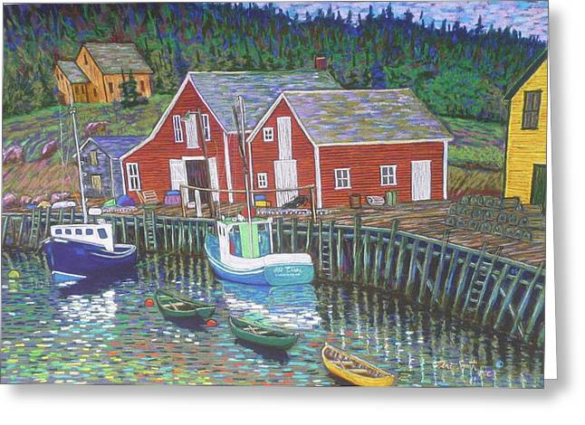 New Harbour  N.s. Greeting Card
