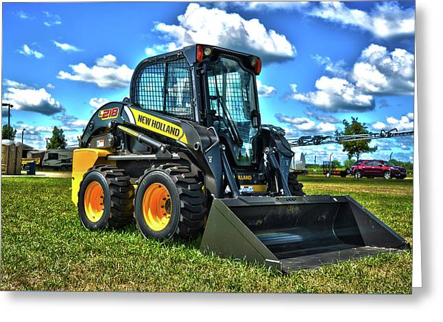 New Holland Greeting Card by Adam Kushion