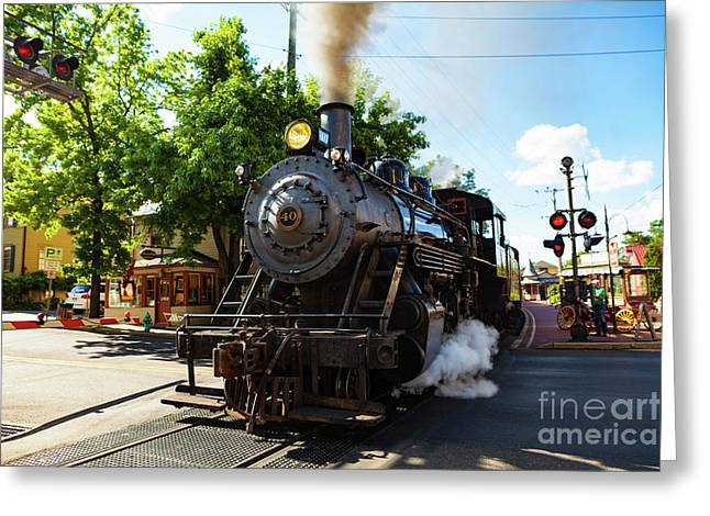 New Hope And Ivyland Railroad  Greeting Card