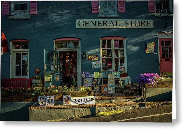 New Hope General Store Greeting Card