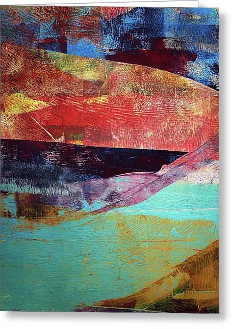 New Horizon Greeting Card by Christopher Davis