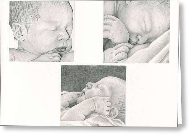 New Life Greeting Card by Linda Bissett