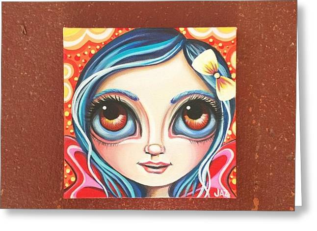 New Little Fairy! Not Sure What To Name Greeting Card by Jaz Higgins