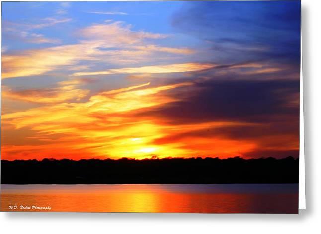 New Longview Sunset Greeting Card