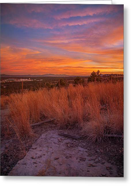 New Mexican Sunset Greeting Card
