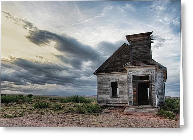 New Mexico Church # 2 Greeting Card