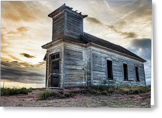 New Mexico Church #3 Greeting Card