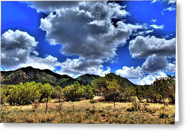 David Patterson Greeting Cards - New Mexico Greeting Card by David Patterson