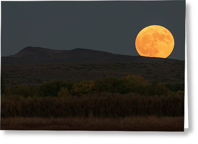 New Mexico Moonrise Greeting Card