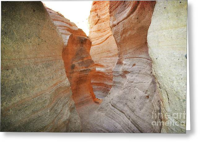 New Mexico Tent Rocks Canyon Mountain Landscape Greeting Card by Andrea Hazel Ihlefeld