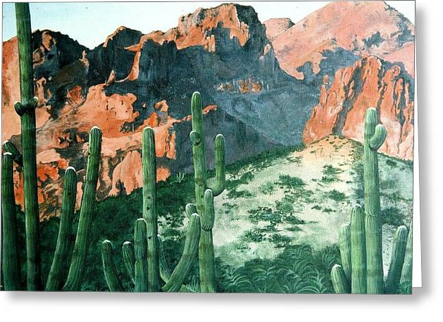 New Mexico Greeting Card by Terri Kilpatrick