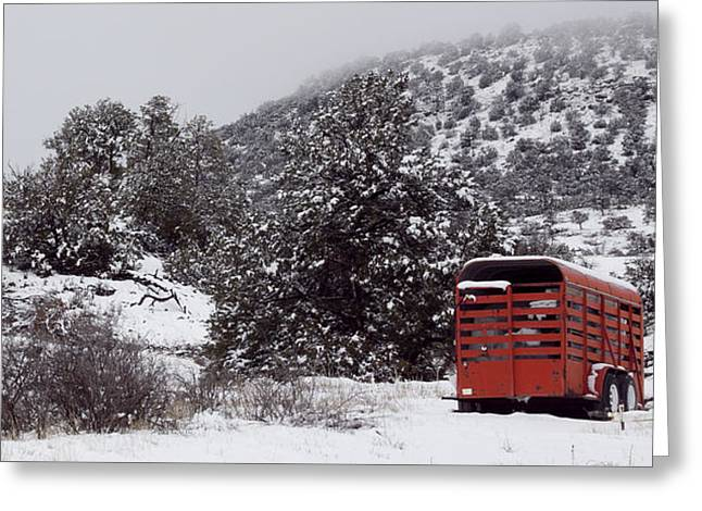 New Mexico Winter Greeting Card