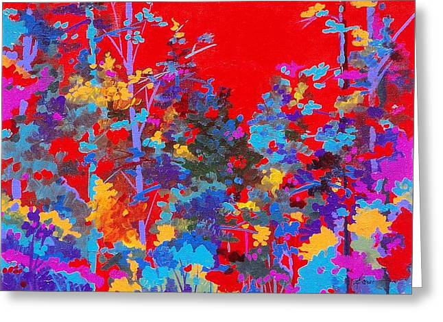 New Mexico Woods Greeting Card