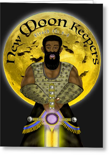 New Moon Keepers Greeting Card