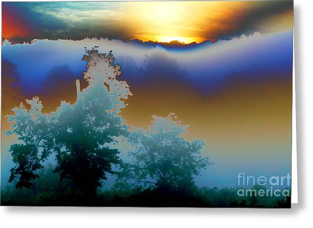 New Morning Light Greeting Card by Jesse Ciazza